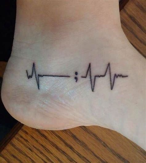 ekg tattoo designs best 25 ekg ideas on heartbeat tattoos