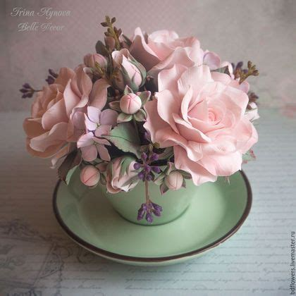 Handmade Clay Flowers - 25 best ideas about clay flowers on polymer