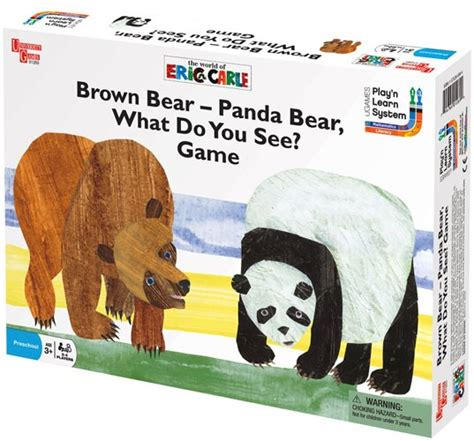 brown bear panda bear what do you see game a mighty girl