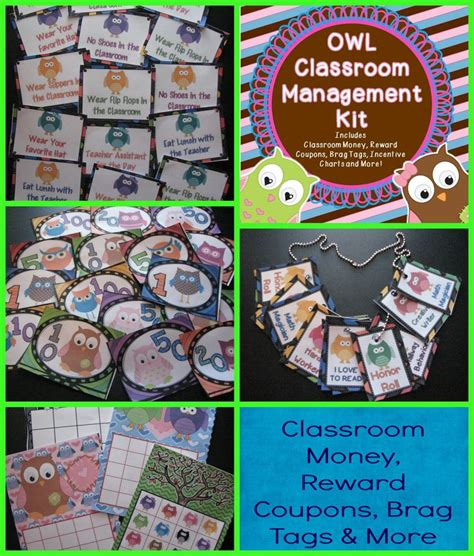 classroom money template classroom management kit owl theme classroom money