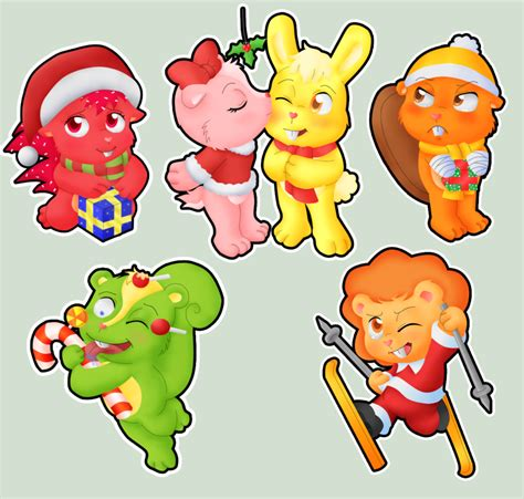 htf christmas stickers by gothicraft on deviantart