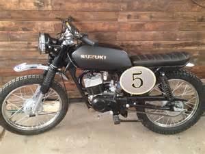 Suzuki Ax 100 Suzuki Ax 100 Scrambler Cafe Racer