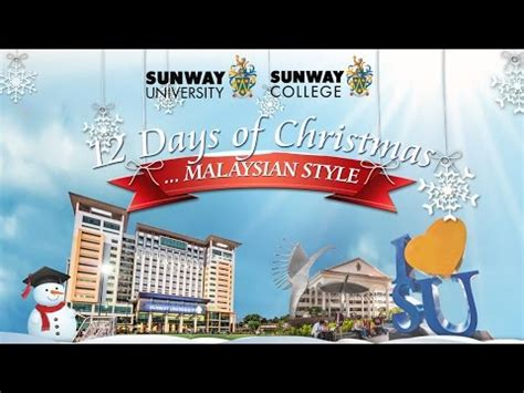 merry christmas  sunway education group youtube