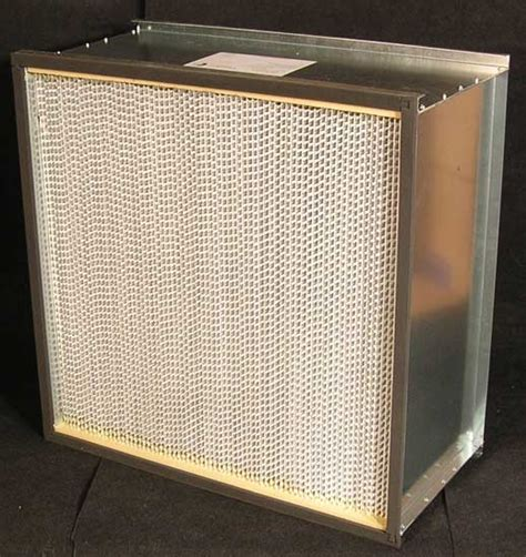 hepa filter options for residential and commercial ac