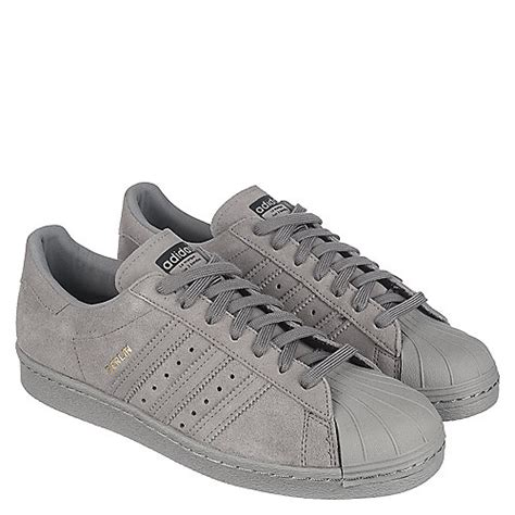 adidas superstar 80s city series s grey casual lace up sneaker shiekh shoes