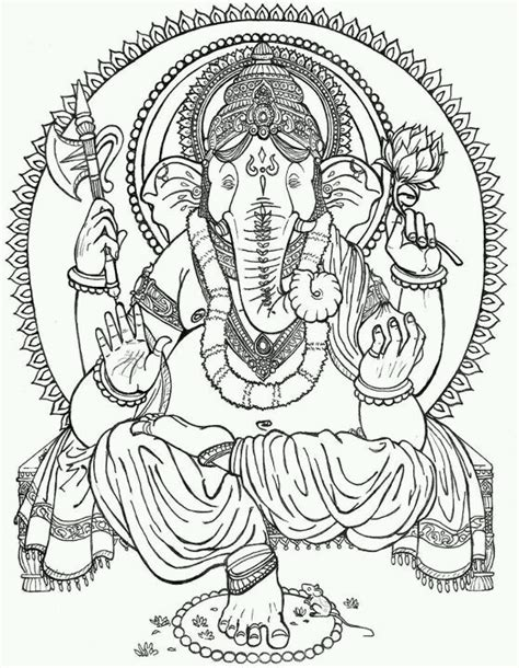 ganesh tattoo template draw ganesh todo y mas pinterest ganesh and draw