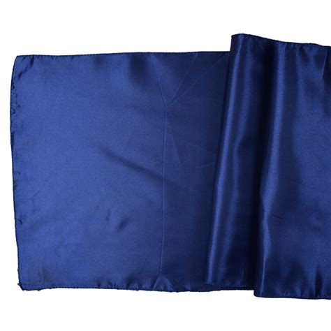 Satin Table Runner Taplak Satin Ungu satin table runner solid navy