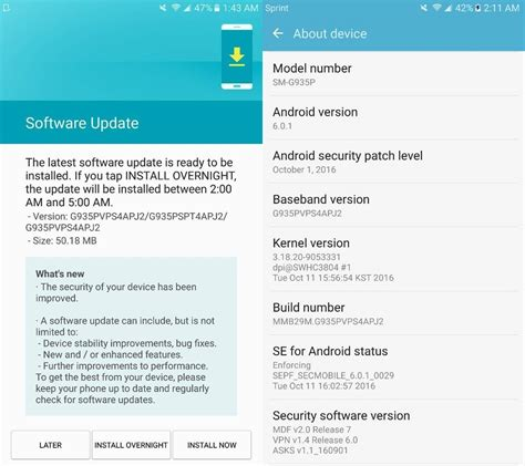 when is the next android update galaxy s7 edge nougat update android 7 0 beta available at t and verizon release g935aucs4apk1