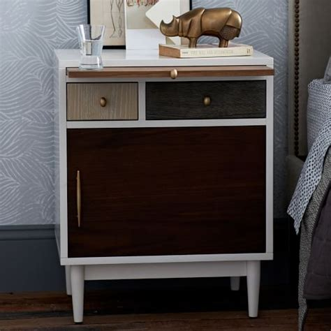 West Elm Patchwork - patchwork nightstand multi west elm