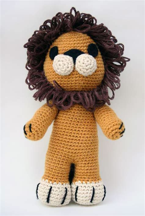 amigurumi pattern lion tremblay the lion free amigurumi pattern