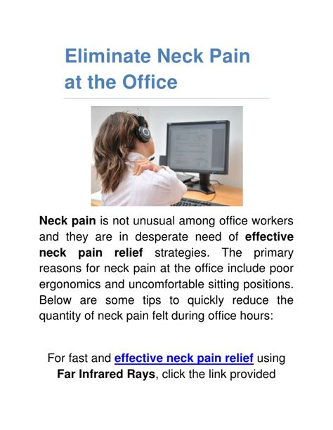 c section pain relief at home office neck pain relief tips