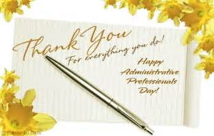 thank you administrative professionals day cards
