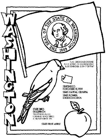 Washington State Coloring Pages washington d c coloring sheets coloring pages