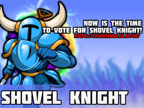 Shovel Meme - vote for shovel knight super smash brothers know your