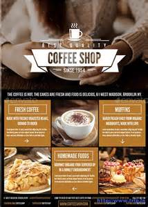 Cafe Flyer Template by 50 Best Coffee Shop Flyer Print Templates 2017 Frip In