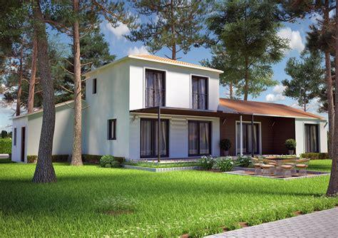 Architecte Salon De Provence by Villa Contemporaine 115m2 Etage Mod 232 Le Iris Salon De