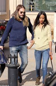 marco perego steals a kiss from zoe saldana during soccer