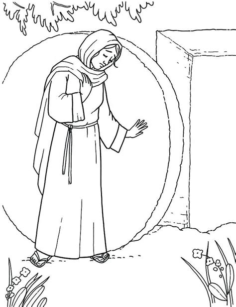 coloring page jesus empty tomb empty tomb coloring pages az coloring pages