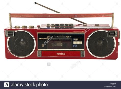 audio cassette player cassette player radio stock photos cassette player radio