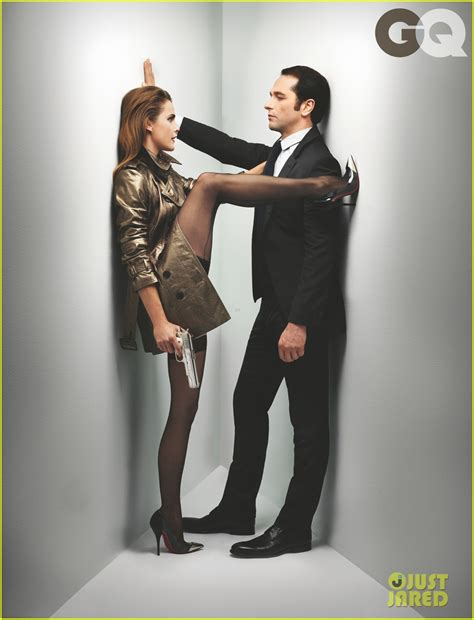keri russell gq keri russell matthew rhys get sexy for gq photo