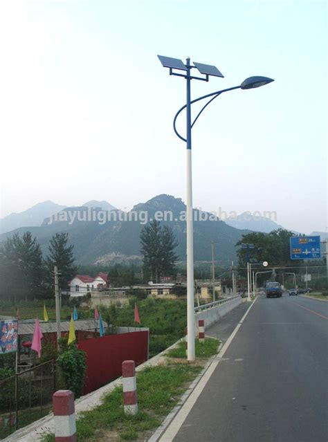 solar street light price competitive price lithium battery 10m pole high power led