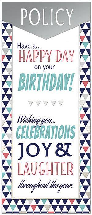 Insurance Birthday Cards