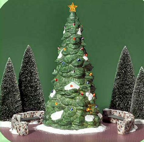 town tree new department dept 56 village christmas in the