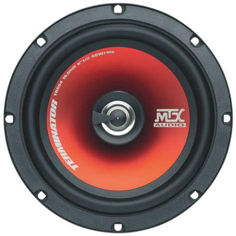 Mtx Terminator 6 5 Quot 2 Way Coaxial Car Speaker Tr654