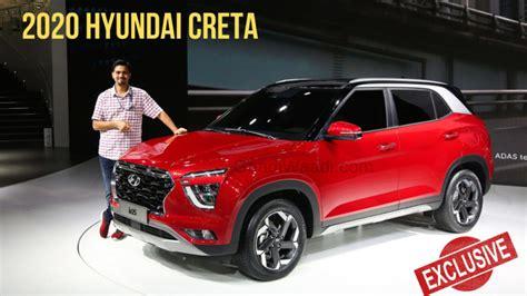hyundai creta facelift 2020 exclusive 2020 hyundai creta walkaround