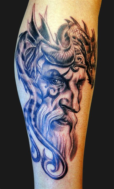 tribal wizard tattoos wizard fresh ideas