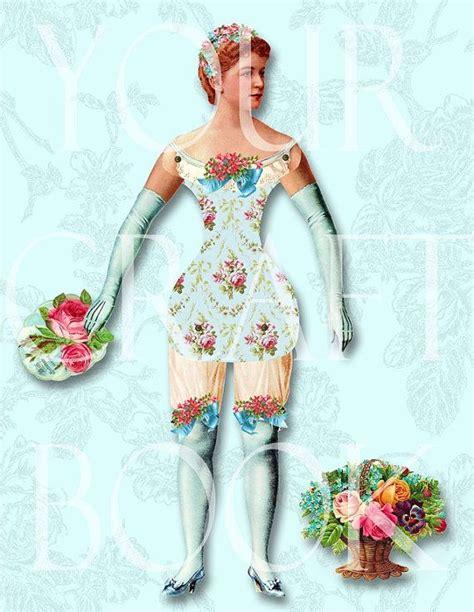 Vintage Paper Doll Digitial Download By Yourcraftephemera   19 best children fabric blocks prints digital downloads