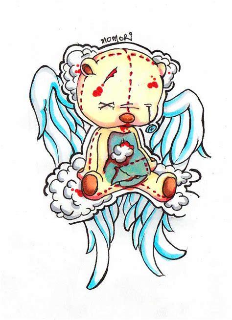 tattoo bear cartoon drawn tattoo teddy bear pencil and in color drawn tattoo