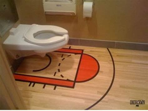 sports theme bathroom extreme interior design sports meet bathroom decor