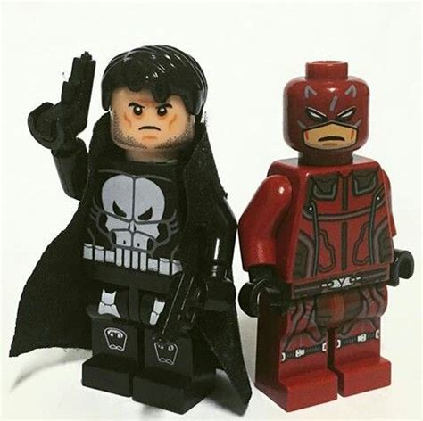 Bootleg Lego The Punisher 1 daredevil vs punisher lego marvel autres