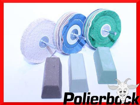 Felgen Polieren Mit Bohrmaschine by 6 Tlg Alu Felgen Polieren Polierset Bohrmaschine 125mm Ebay