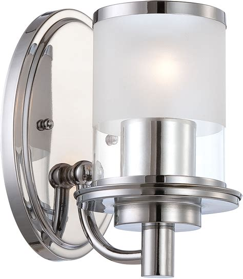 Modern Chrome Sconces Designers 6691 Ch Essence Modern Chrome Wall