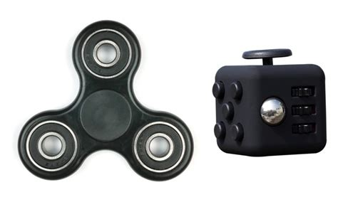 Promo Fidget Spinner Toys Pressfit Cube Bearing Fsz1 fidget bundle spinner and cube 2 groupon
