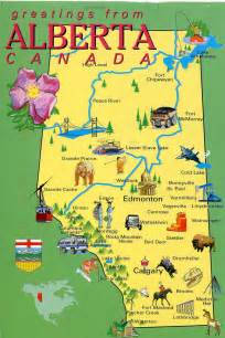 alberta canada map canada remembering letters and postcards page 7