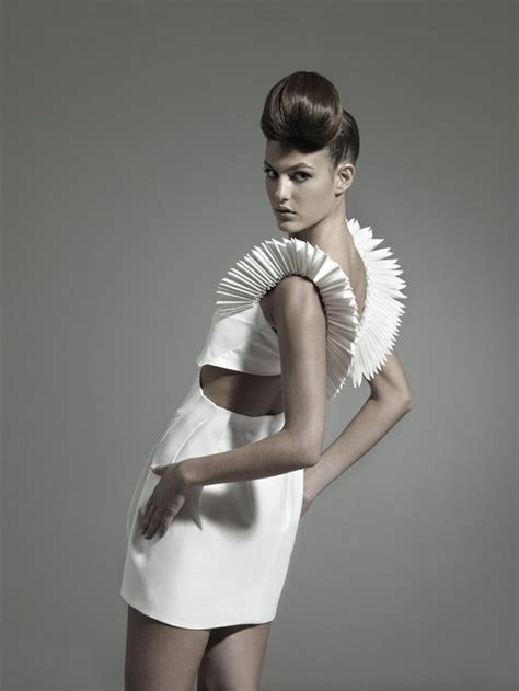 Origami Inspired Dress - pin by mcpherson on nintai origami inspired