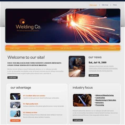 welding templates welding website template web design templates website