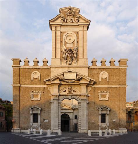porta pia roma mura e porte di roma