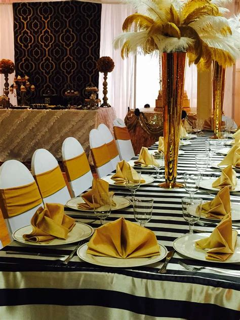 the great gatsby quinceanera theme great gatsby quincea 241 era party ideas photo 8 of 25