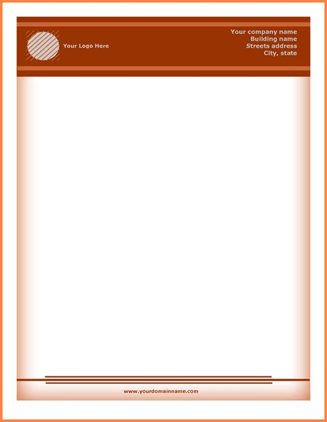 11 Letterhead Templates Download Company Letterhead Letter Stationery Template Free