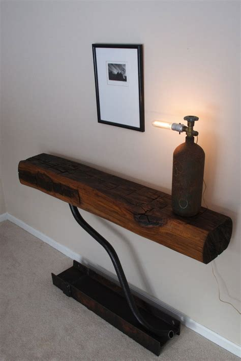 Tables Made From Reclaimed Wood Reclaimed Wood Tables Made Of 1800 S Beams