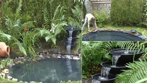 building a small backyard pond home decor diy project how to build a wonderful pond