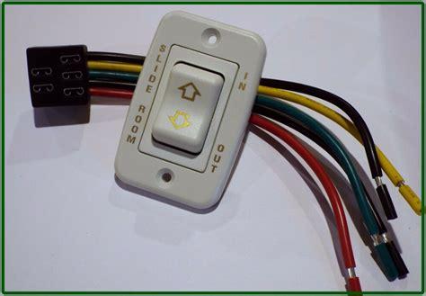 rv  room switch    wire harness  prongs momentary  bezel  ebay