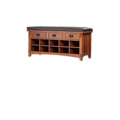 shoe storage home depot home decorators collection artisan light oak 3 drawer