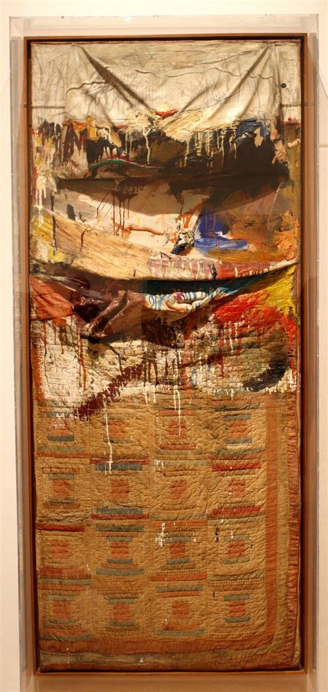 rauschenberg bed art119 midterm artwork art 119 with jackson at university of arizona studyblue