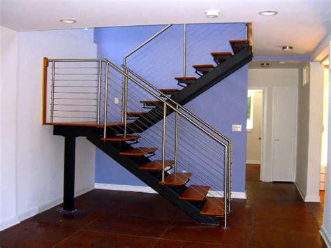 Wire Handrail Systems Tipos De Escadas Para Decora 231 227 O De Interiores