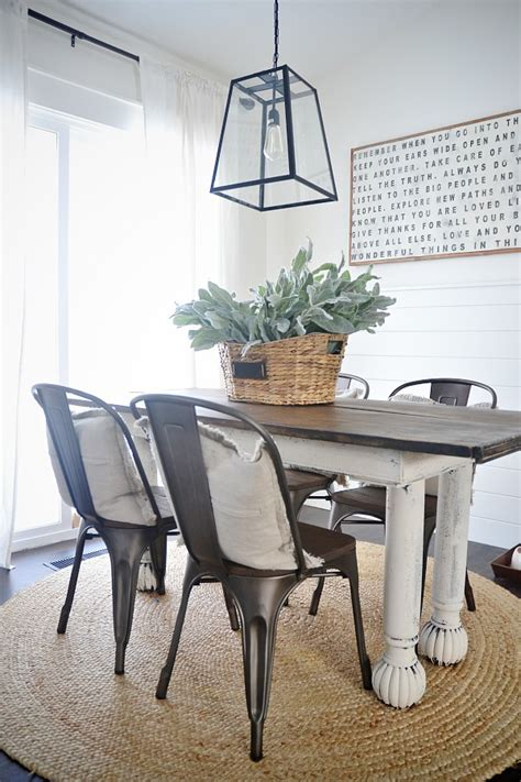dining room farmhouse table with metal chairs folding new rustic metal and wood dining chairs liz marie blog